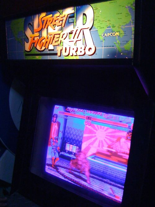 Street Fighter 2 Turbo Arcade
